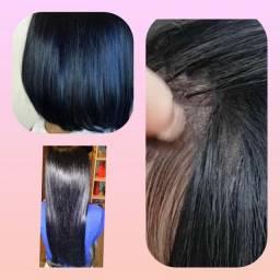 Mega hair colocação e manutenção