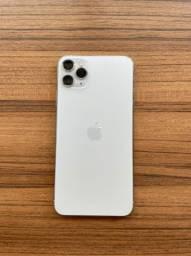 2 iPhone 11 Pro Max 64gb. Dourado/Branco. (Valor unitário)