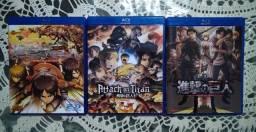 Blu Ray: Shingeki no kyojin: 1-3 temporada
