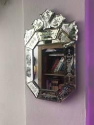 Espelho de cristal bisotado
