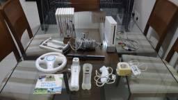 Nintendo Wii + acessórios + jogos