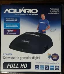 Conversor Digital e Gravador DTV 5000