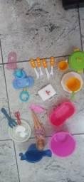 Barbie original e outros brinquedos por apenas 15 reais