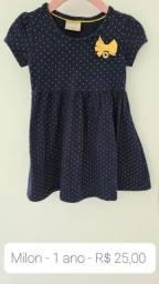Vestido Milon 1 ano