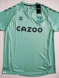 Camisa Everton Third Hummel 20/21 - Tamanho: G