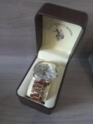 Relógio POLO U.S. ASSN. 80215 ORIGINAL NOVO LACRADO.