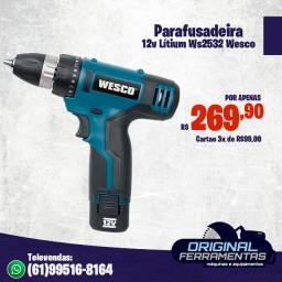 Parafusadeira/Furadeira 12V Lítium Ws2532 Wesco