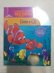 """1 livro historia infantil """"Procurando Nemo"""" com Cd"""