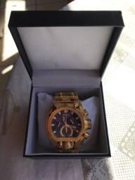 Relógios Invicta Bolt Zeus Banhado a ouro .