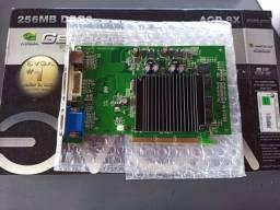 Geforce 6200 256 MB na Caixa