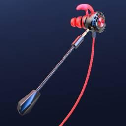 Fone gamer p/ Freefire c/ mic para Celular Smartphone na caixa + Acessórios audio 3D
