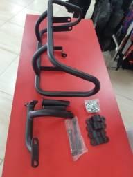 Protetor de Motor com pedaleira Roncar XT 660