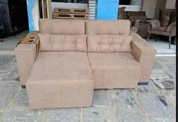 Sofa Retrátil com 2 Metros Top Luxo Novo a Pronta Entrega