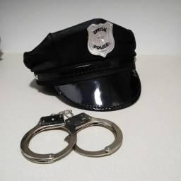 Acessórios de Fantasia policial com etiqueta