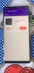 Samsung note 10 256 sem detalhes com todos acessórios e nota