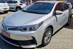 Título do anúncio: Corolla GLI Upper 1.8 automático 2019 - Primeira parcela para 2022 !
