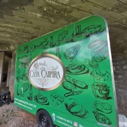 Trailer food truck acm 3 X 1,5 pronto para rodar