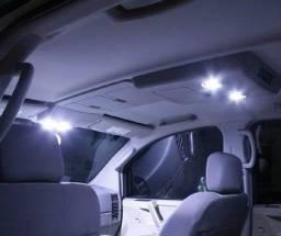 Uber - 99 - Placa Super Luz Led Cob 7w 24 Chips Teto Mala Carro e afins