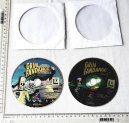 Raridade - Jogo Antigo de PC - Original - Grim Fandango - 1998 - Mídia Física - Usado