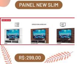 Painel p/tv até 49 polegadas New Slim