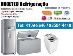 Plantão de atendimento! Conserto de geladeiras e máquina de lavar roupa. RJ