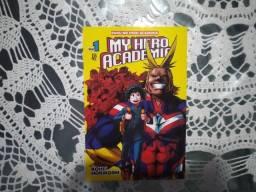Mangá Boku no hero academia - Edição 01