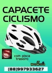 Capacetes ciclismo Branco ou cinza