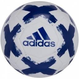 Bola Campo Adidas Starlancer VI Club - Branco e Azul