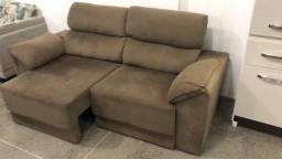 Sofá Retratil e reclinável 2.10cm