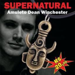Colar sobrenatural supernatural Sam Dean