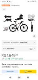 Vendo bike ksm shimano aro 29 nova com nota fiscal 1400 aceito ofertas