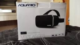Óculos de realidade virtual para celular.