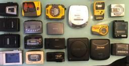 Portáteis Walkman, Minisdisc, Rádio, Discman e gravador bom ou com defeito