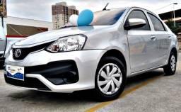 Título do anúncio: Toyota Etios SD X automático