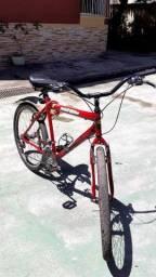 Bike aro 26 semi nova com nota fiscal