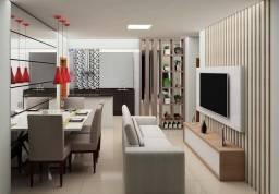 Apartamento 02 quartos com suíte bairro Santa Terezinha