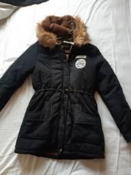 Bota e casaco de inverno