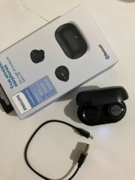 Fone Bluetooth Philips original - Novo