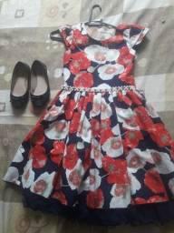 Kit Vestidos Menina tamanho 10