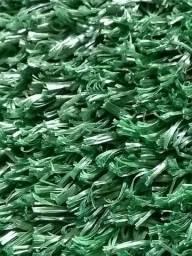 Grama Sintética Decorativa - 20mm - Fibrilada - Verde