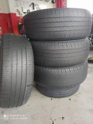 Jogo de pneus 265/60/18 Bridgestone novos