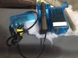 Aquário, lâmpada aquário e bomba pra aquário