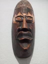 Par de Mascaras Decorativas Bali - Indonésia - 30cm