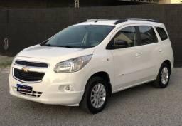 Chevrolet Spin LT 1.8 Automatico - 2014 TROCO/FINANCIO