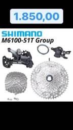 Grupo Shimano Deore 12V