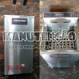 Manutenção de Fritadeira, Crepeira e Chapas Elétricas