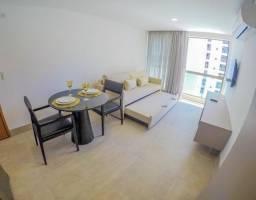 Título do anúncio: Apartamento com 1 quarto para alugar, 35 m² por R$ 3.400/mês com taxas - Boa Viagem - Reci