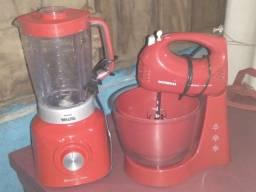 Kit liquidificador e batedeira