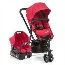 Carrinho 3x1 Safety 1St Mobi Red Completo!!! !!!Novo na caixa!!!