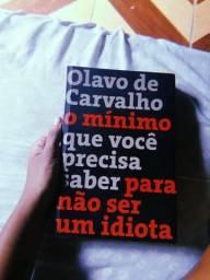 Livro IDIOTA - Olava de Carvalho